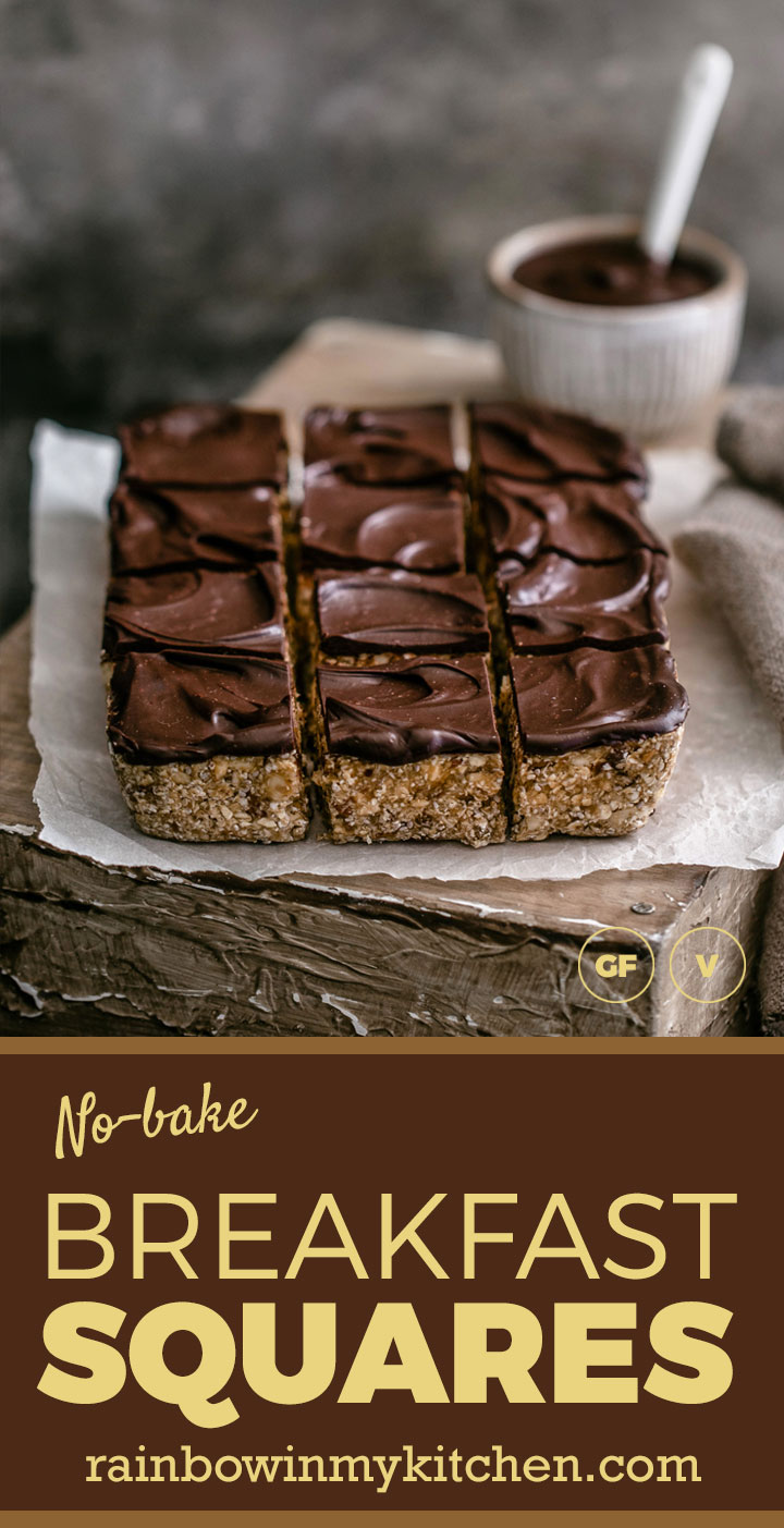 No-bake breakfast squares